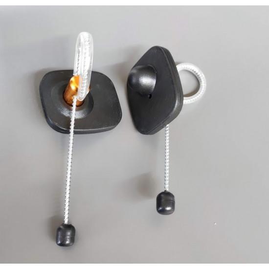 Бутилков таг с метална каишка